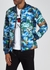 Black quilted reversible shell jacket - Kenzo