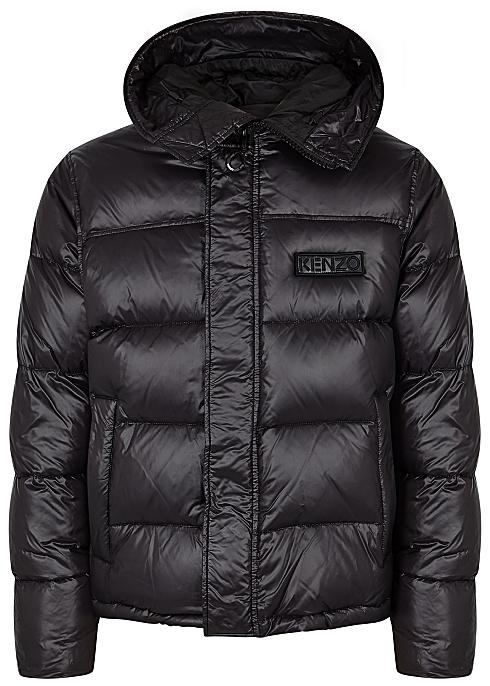 41e00ea2ba94 Kenzo Black quilted shell jacket - Harvey Nichols