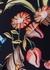 Navy floral-print cady dress - Peter Pilotto