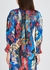 Floral-print hammered silk blouse - Peter Pilotto