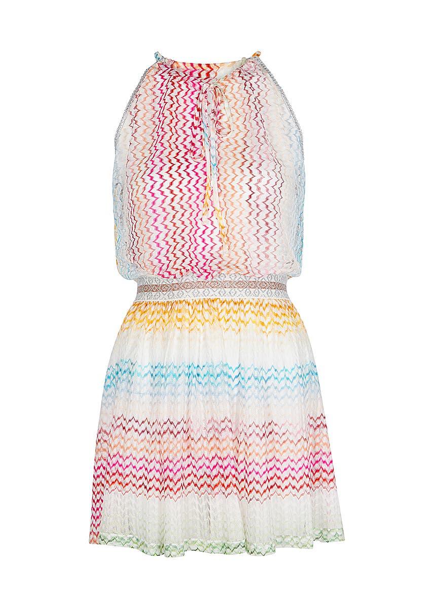 734e9a5ff8aebd Zigzag fine-knit kaftan Zigzag fine-knit kaftan. New Season. Missoni Mare