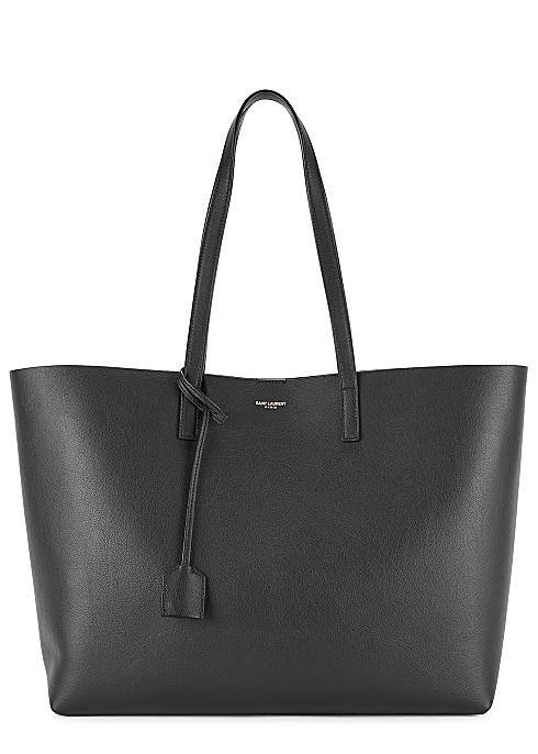 7294e8dcd9f Saint Laurent East West black leather tote - Harvey Nichols