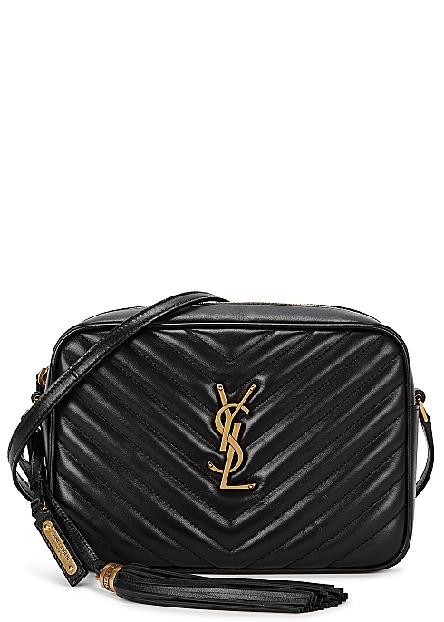 297064d82c9 Saint Laurent Lou medium quilted cross-body bag - Harvey Nichols