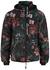 Black floral-print shell jacket - Paco Rabanne Body