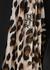 Black fine-knit midi skirt - Boutique Moschino