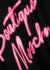 Black logo cotton T-shirt - Boutique Moschino
