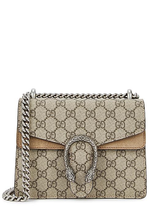 070fd9a2b Gucci Dionysus GG Supreme mini shoulder bag - Harvey Nichols