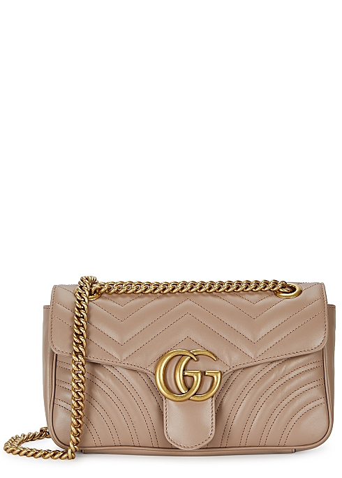 68c851b50b Gucci GG Marmont small leather shoulder bag - Harvey Nichols