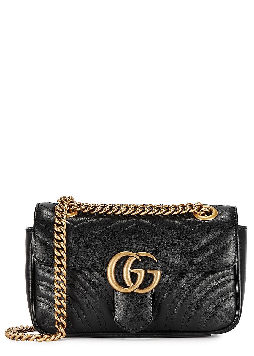 74a23a02bd GG Marmont mini leather shoulder bag ...