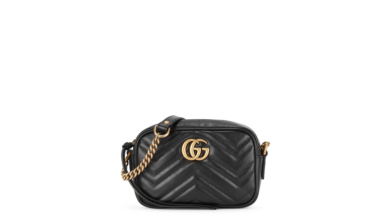 f2950186ec7 GG Marmont mini leather cross-body bag