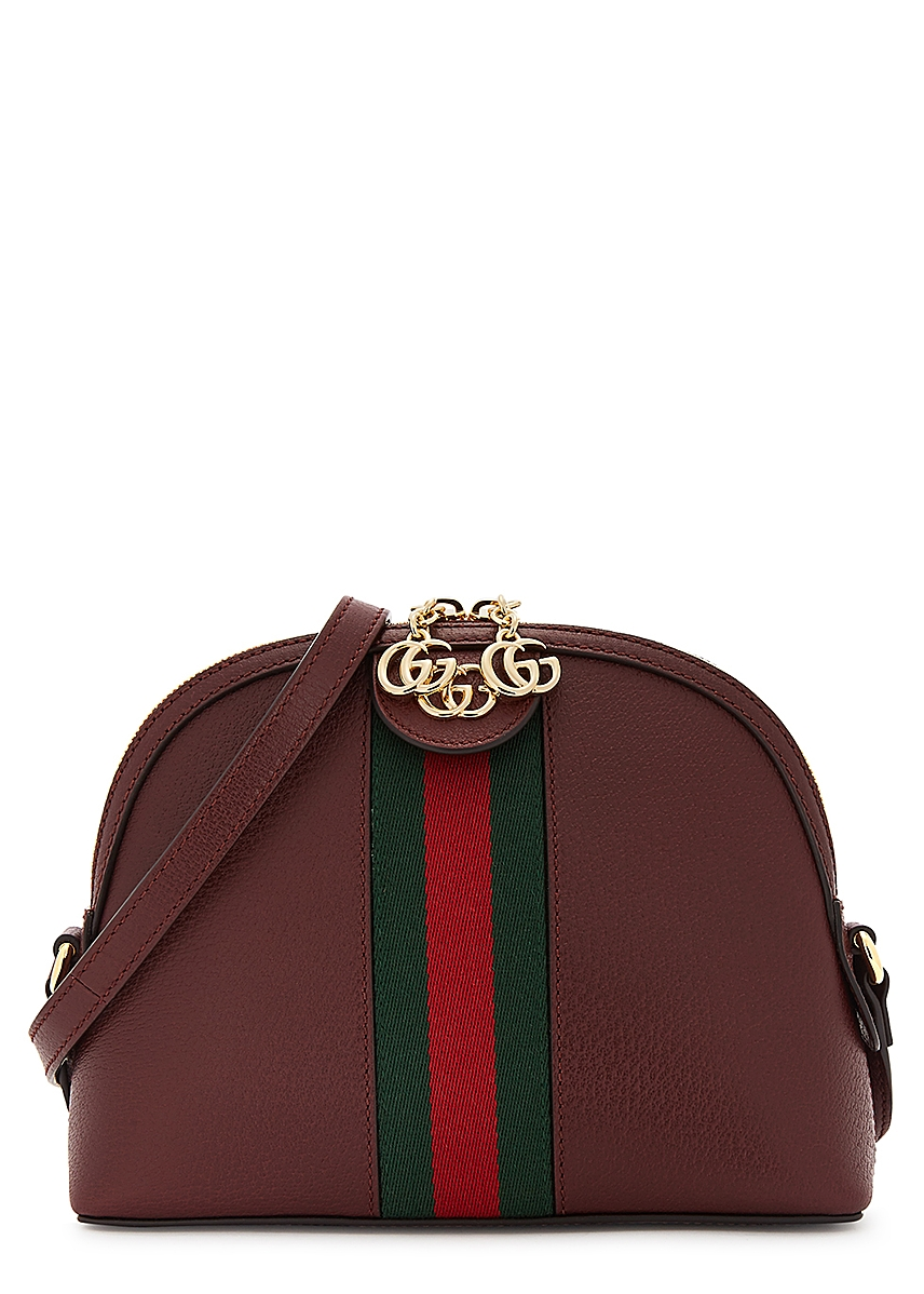 62cb0cdec2aa Ophidia bordeaux leather shoulder bag Ophidia bordeaux leather shoulder bag.  New Season. Gucci