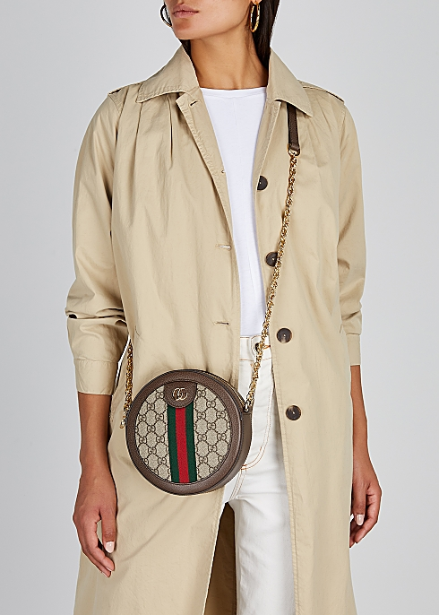 9270d1e531914 Gucci Ophidia GG Supreme shoulder bag - Harvey Nichols