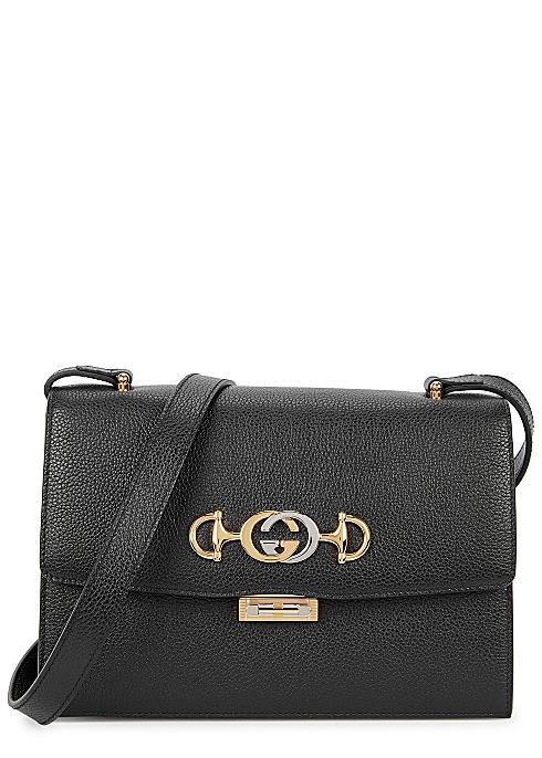 a62f8648b Gucci Zumi small leather shoulder bag - Harvey Nichols