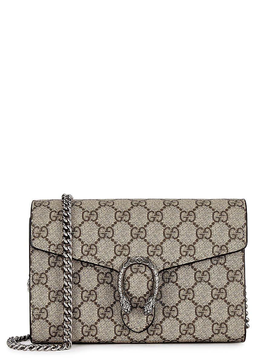 34a444293657 Dionysus monogrammed wallet-on-chain ...
