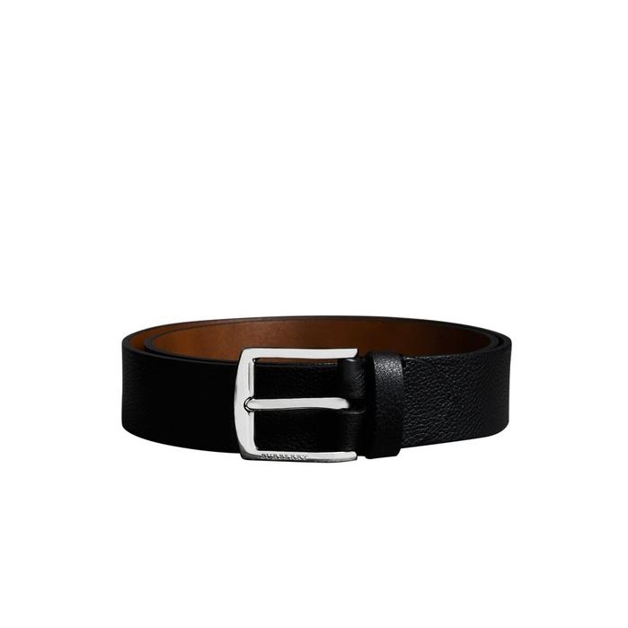Burberry Grainy Leather Belt