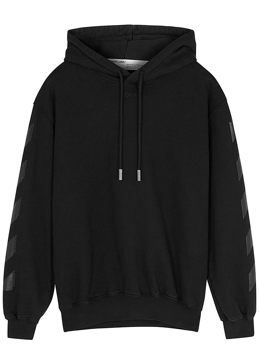 c3cae994c55c4 Black printed cotton sweatshirt Black printed cotton sweatshirt. Off-White