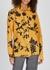 Calla floral-print brushed satin shirt - Dries Van Noten