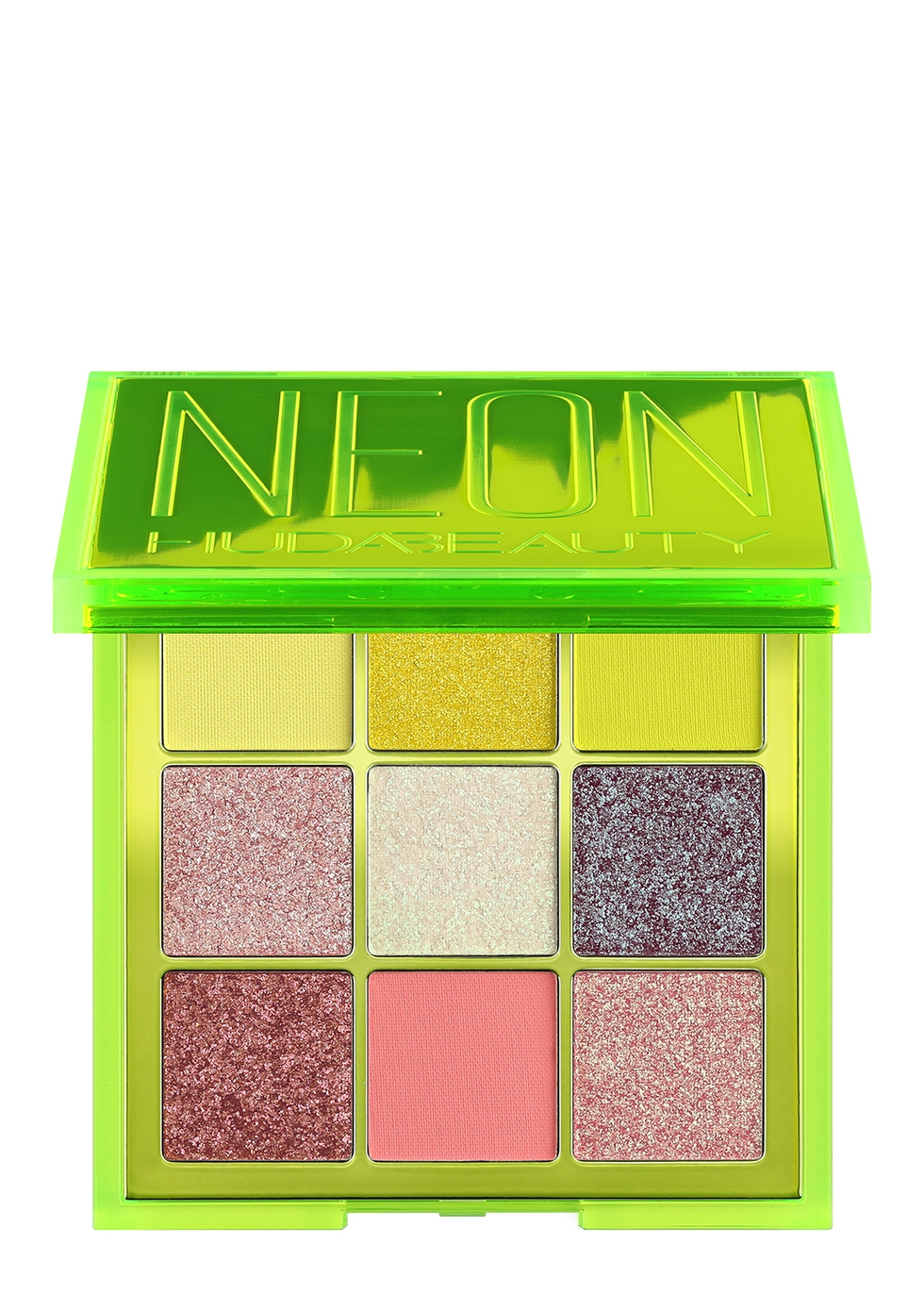 Neon Green Obsessions Pressed Pigment Palette