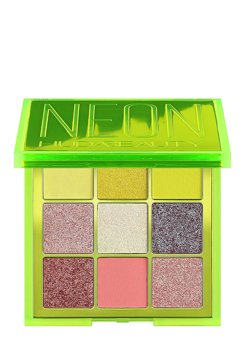 d127316615c Neon Green Obsessions Pressed Pigment Palette. HUDA BEAUTY. Neon Green  Obsessions Pressed Pigment Palette