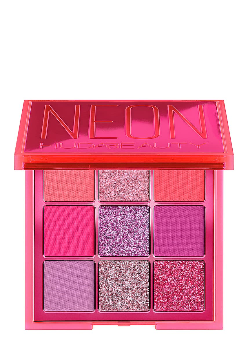 b7bceebe786 Neon Pink Obsessions Pressed Pigment Palette. HUDA BEAUTY