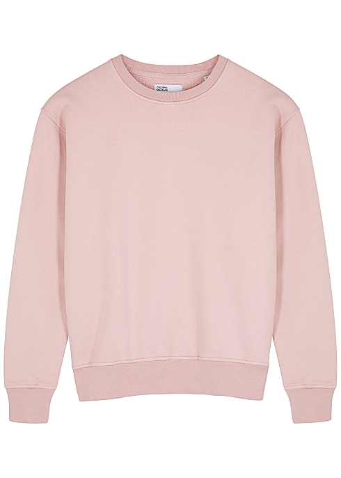 e30987e9c162d4 COLORFUL STANDARD Pink organic cotton sweatshirt - Harvey Nichols