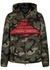 Undercover green camouflage jacket - Valentino