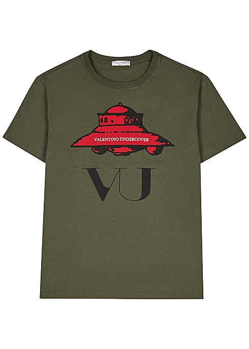 7f08718e Valentino X Undercover printed cotton T-shirt - Harvey Nichols