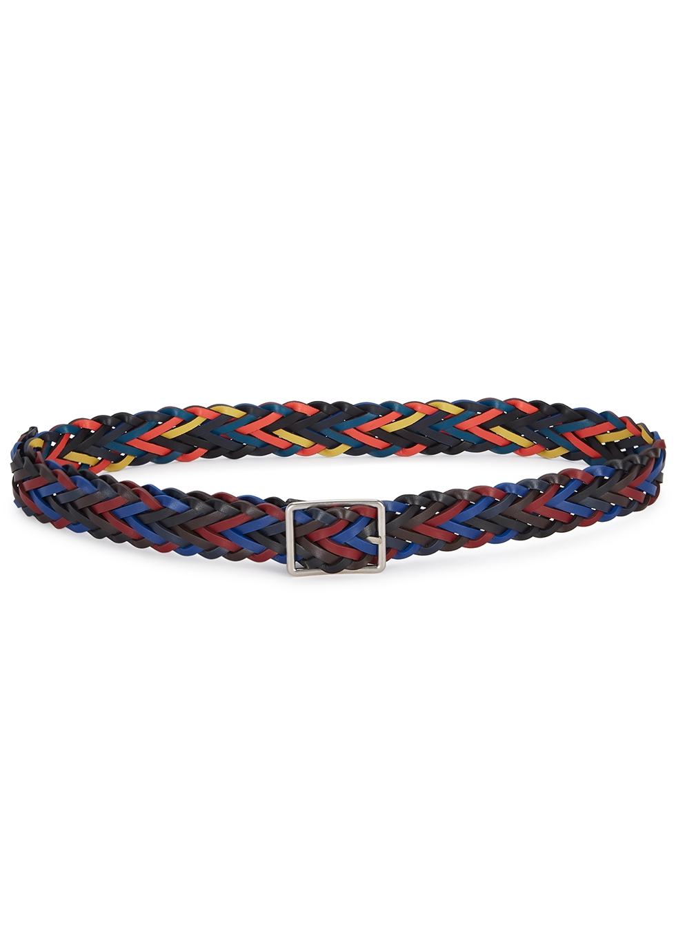 Reversible Woven Leather Belt by Paul Smith