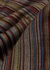 Black striped wool scarf - Paul Smith