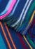 Striped wool scarf - Paul Smith