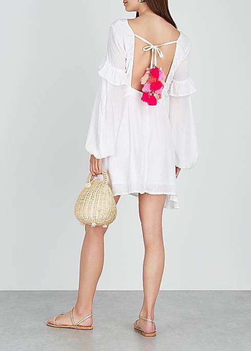 20c96a46bf29 Sundress Margherita embellished gauze dress - Harvey Nichols