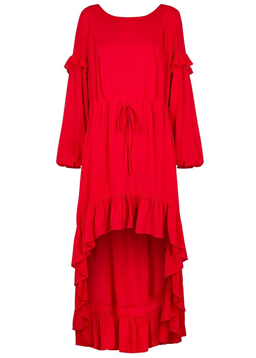 46247a3b062a Magdelena red knitted dress ...
