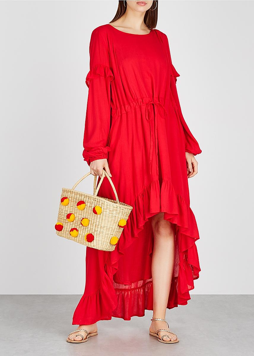 df55486494a1 Magdelena red knitted dress Magdelena red knitted dress. New Season.  Sundress