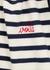 Voilá striped fine-knit cotton T-shirt - Maison Labiche