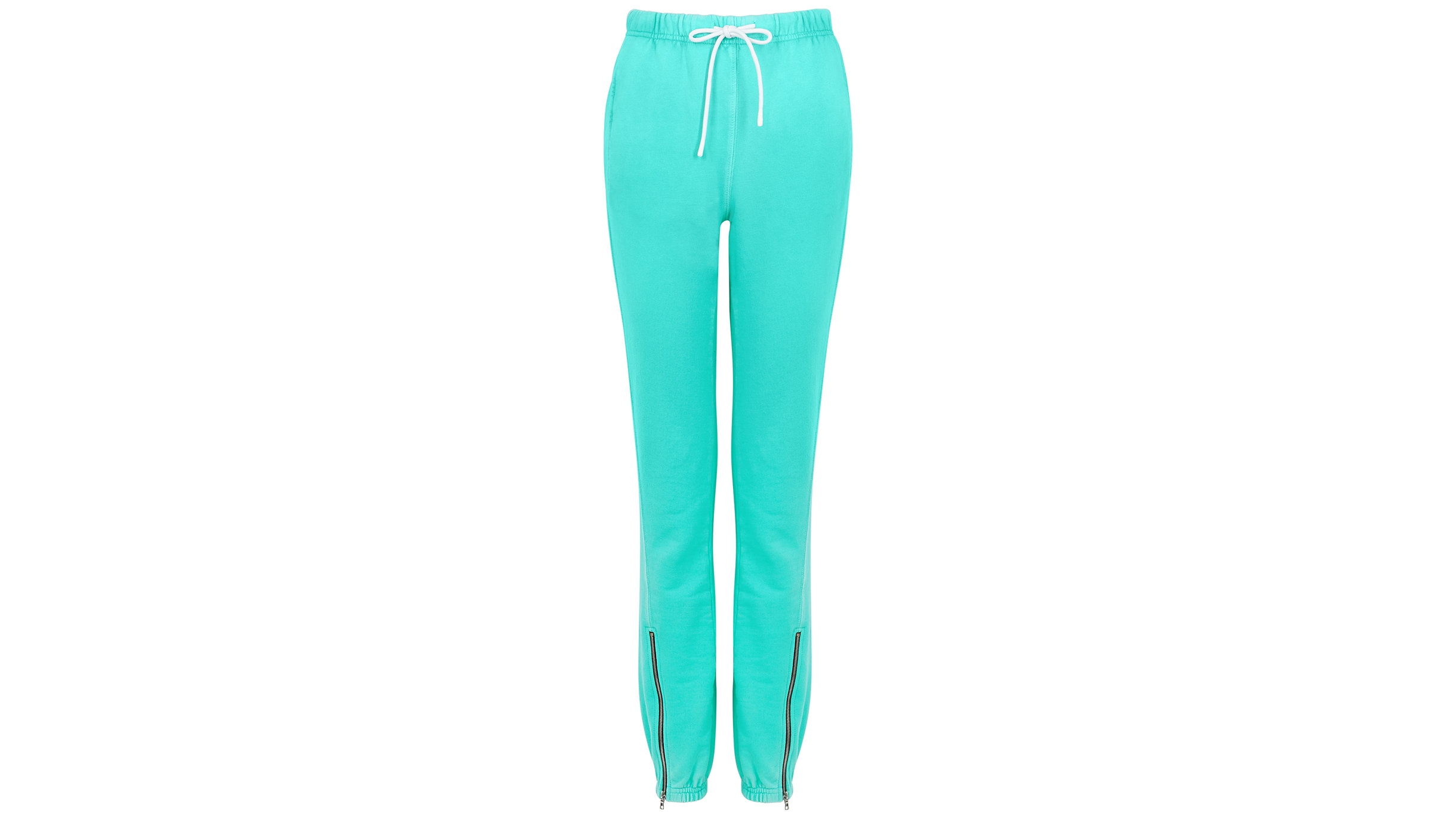 new high quality cheap sale variety styles of 2019 Milan turquoise cotton sweatpants