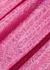 Jepska holographic bandeau midi dress - Saks Potts