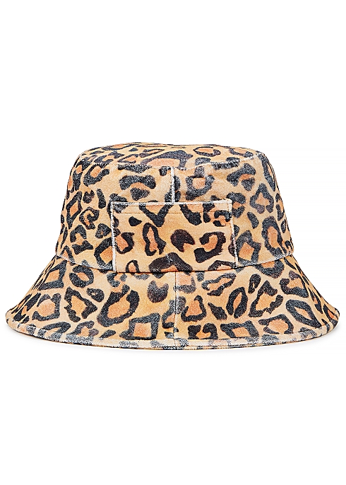 c6a6bedb3ffe Lack of Color Wave leopard-print terry bucket hat - Harvey Nichols
