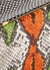 Maya python-effect leather cross-body bag - Lutz Morris