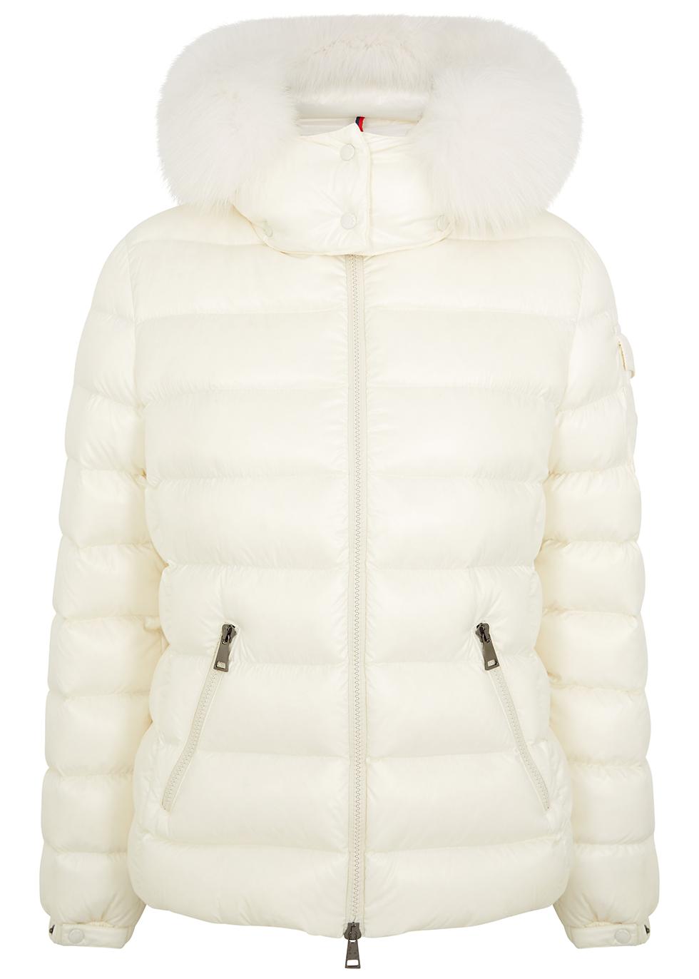 Badyfur fur-trimmed quilted shell jacket
