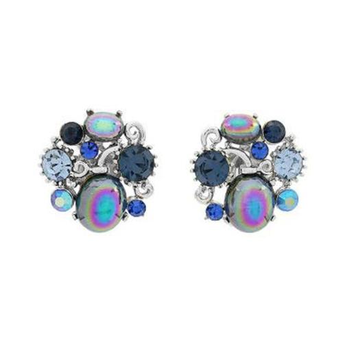 5a6da17ea46bd 1960S Vintage Lisner Floral Clip-On Earrings