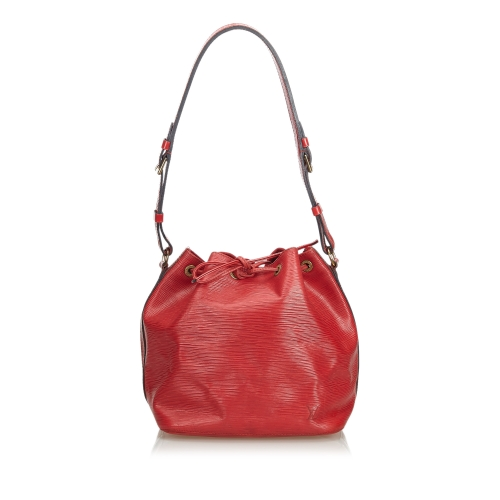 Louis Vuitton Red Bucket Bag