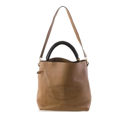 Louis Vuitton Brown Satchel In Dark Brown