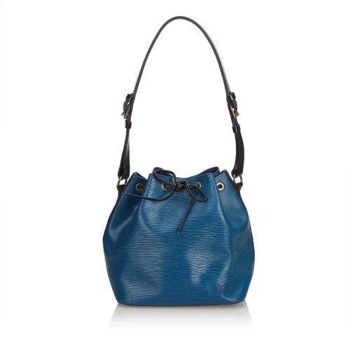 Louis Vuitton Blue Epi Bicolor Petit Noe
