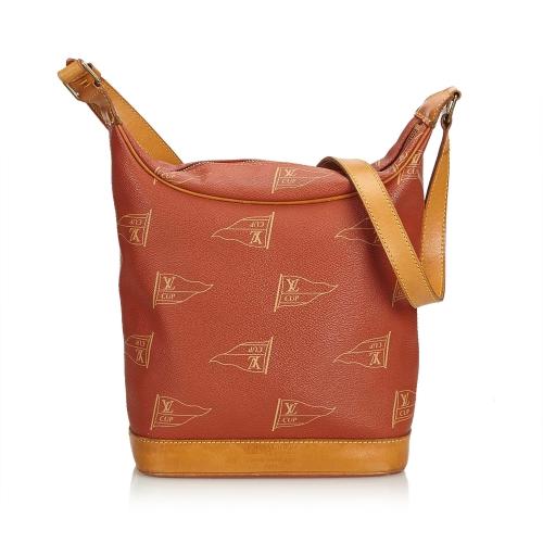 Louis Vuitton Brown Shoulder Bag In Light Brown
