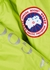 Approach bright green quilted shell jacket - Canada Goose