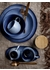 Blue sandrine serving plate - Bloomingville
