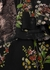 Floral-print lace-trimmed silk blouse - Giambattista Valli
