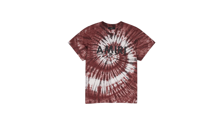 39300477 Burgundy tie-dye cotton-jersey T-shirt