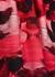 Red floral-jacquard silk-blend top - Alexander McQueen