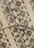 Pomorance beige python-effect leather bag - ATP Atelier